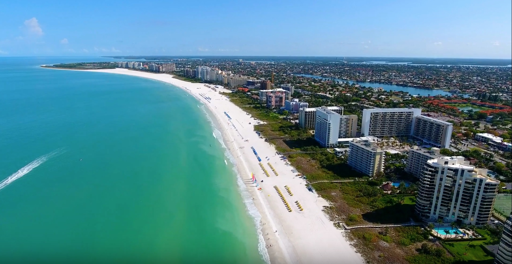 Beach Front Apartments - Marco Island, Florida